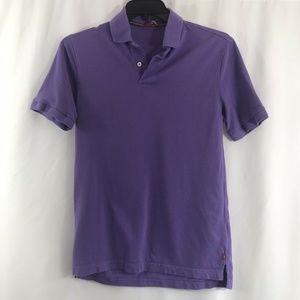 Izod Golf Men's Polo Shirt Short Sleeve Purple M